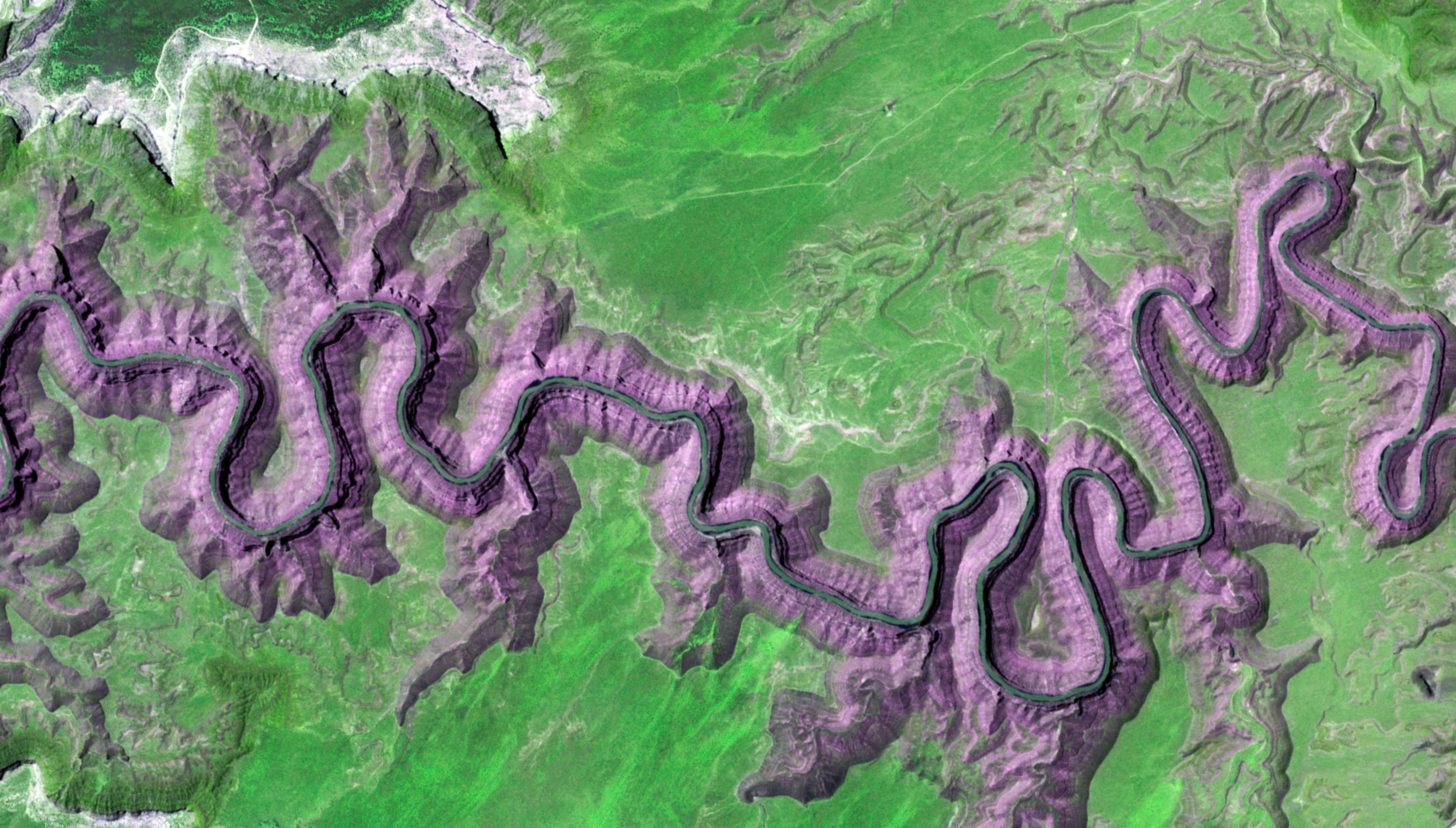 Cañones Goosenecks, Utah