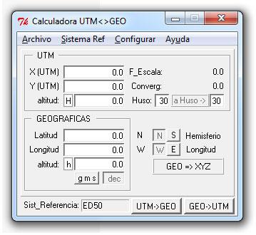 calculadora geográfica