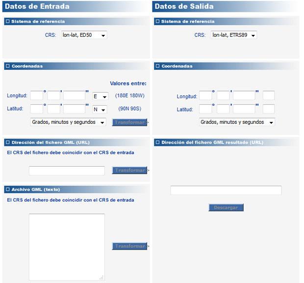 calculadoras geográficas on line