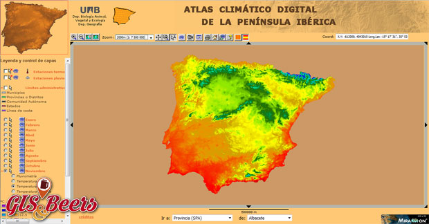 Atlas Digital climatico