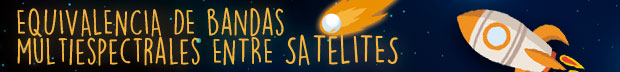 bandas satelite multiespectral