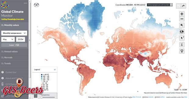 Global Climate cartografía climática