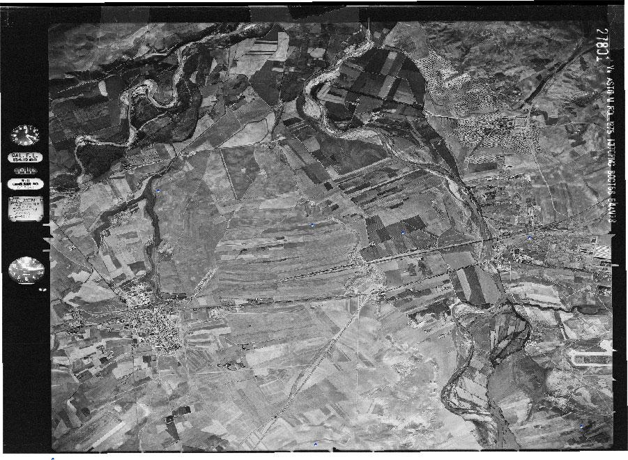 Fotogramas de imagenes aéreas históricas