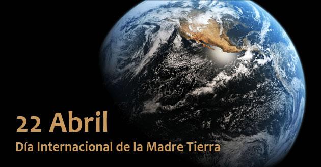 Día Internacional de la Madre Tierra cartografia SIG