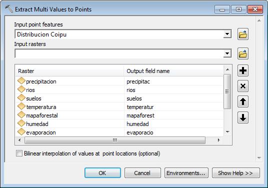 extraer valores raster