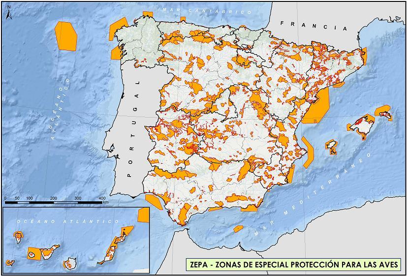 Red Natura 2000 cartografia
