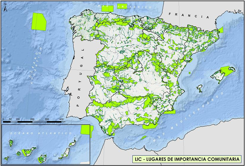 Cartografia Red Natura 2000