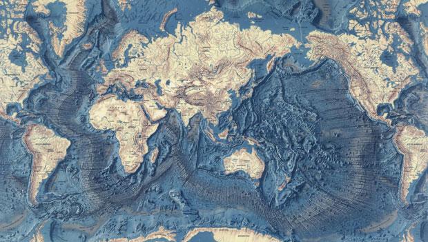 cartografia oceanica