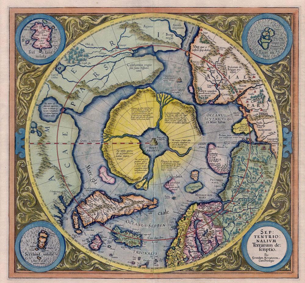proyecciones de Mercator plana