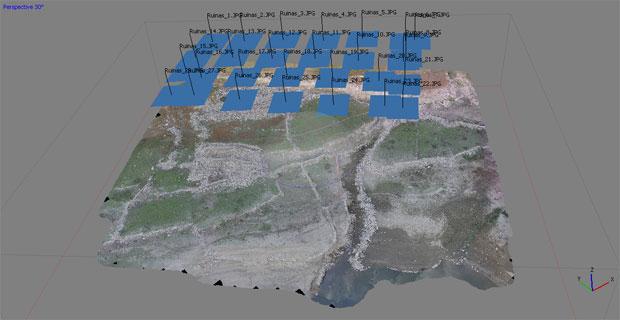 Agisoft PhotoScan para drones