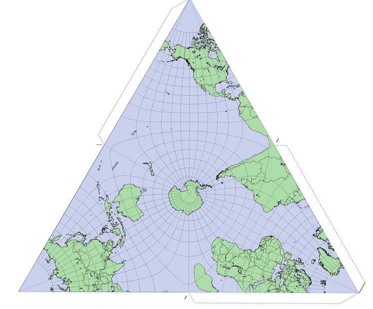 origami cartografia