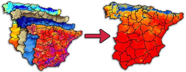 algebra de mapas para aptitud territorial