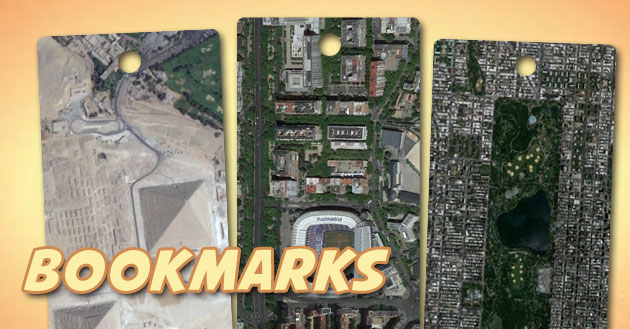bookmarks en ArcGIS