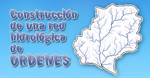 redes hidrológicas en arcgis