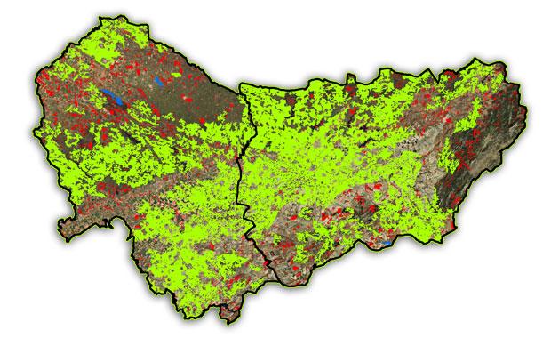 parches de biodiversidad aptitud territorial