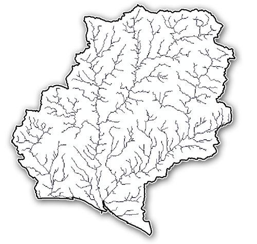 redes hidrologicas en arcgis