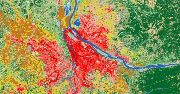 webinar análisis de imágenes satélite Landsat para reclasificacion de usos del suelo con qGIS