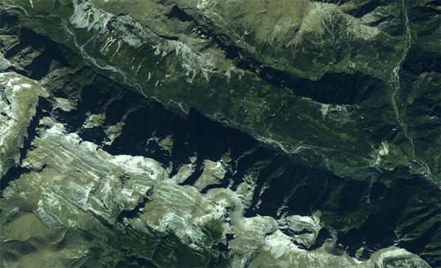 Valle o montaña geografia