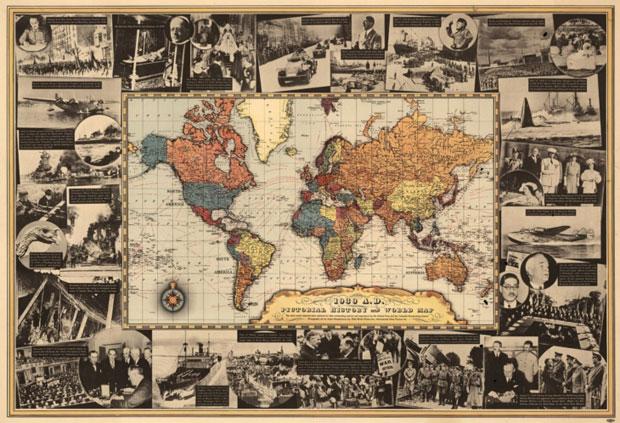 antiguedades de mapas