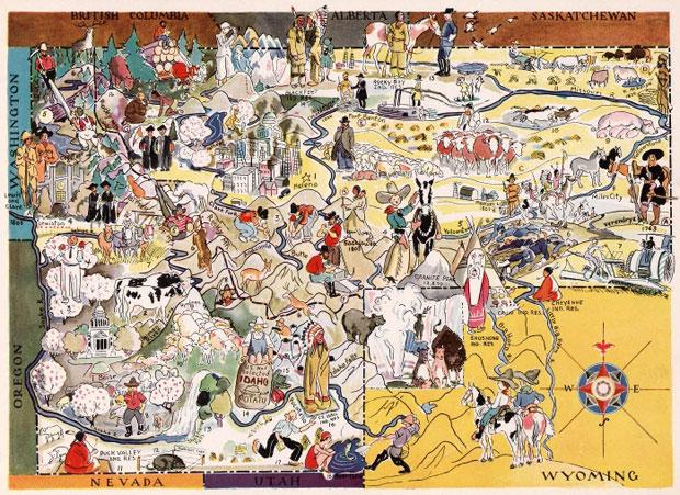 colecciones de mapas históricos