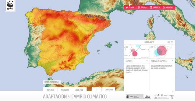 cartografia de cambio climático