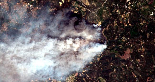 teledetección para el análisis de incendios forestales