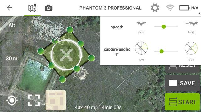 misiones circulares pix4D y rpa dron