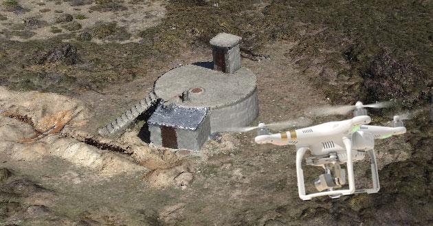 misiones circulares con drones