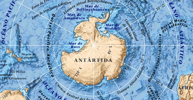 descarga cartografía antártica