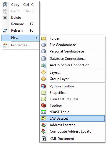 representación de datos LiDAR