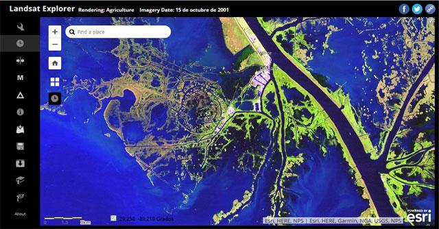 Landsat Explorer
