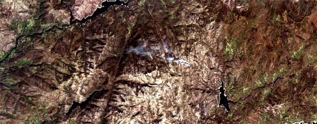 Combinación de imágenes satélite rgb