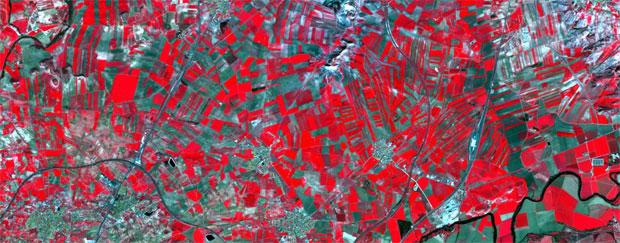 Combinación de imágenes satélite