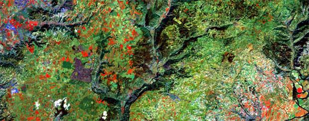 Combinaciones RGB de imágenes satélite Landsat y Sentinel