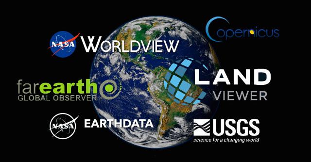 Los mejores visores para teledetección y descargar imágenes satélite