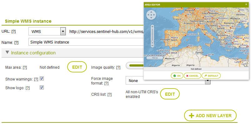incorporar imágenes satélite en ArcGIS mediante servidores GIS