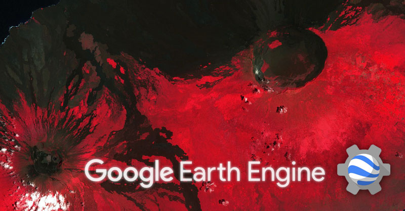 Descarga de imágenes de Google Earth Engine