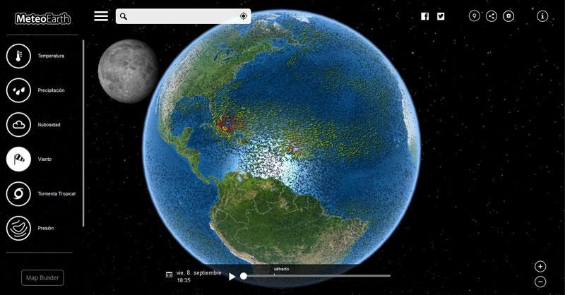 MeteoEarth mapas climáticos