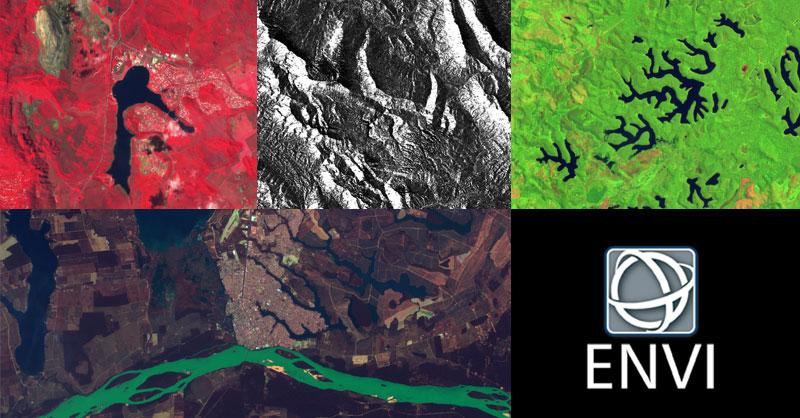 ENVI para procesado de imágenes satélite