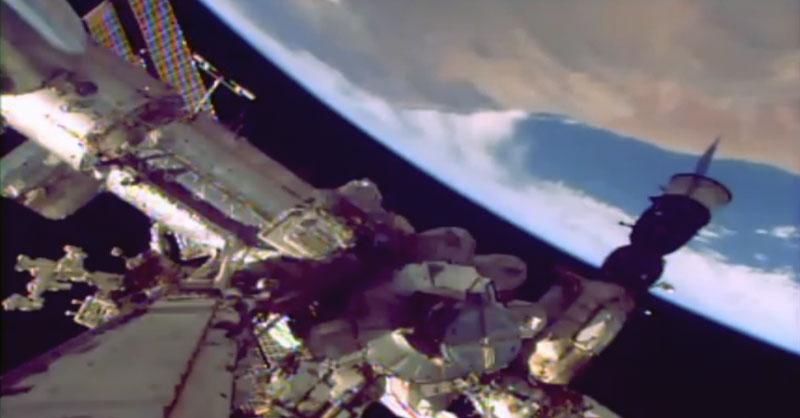 Imágenes en directo de la Estación Espacial Internacional ISS