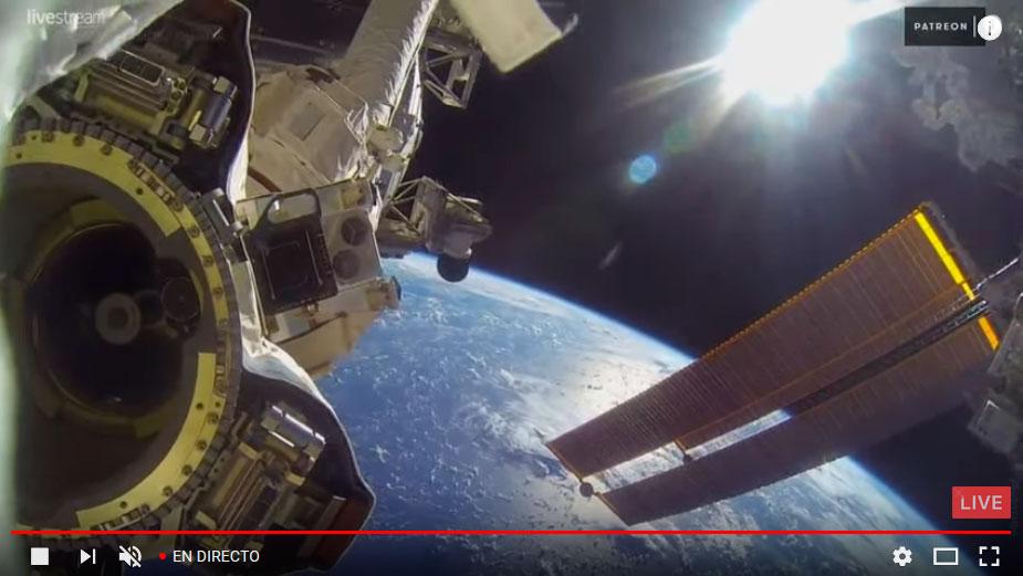 Imágenes en directo desde la ISS