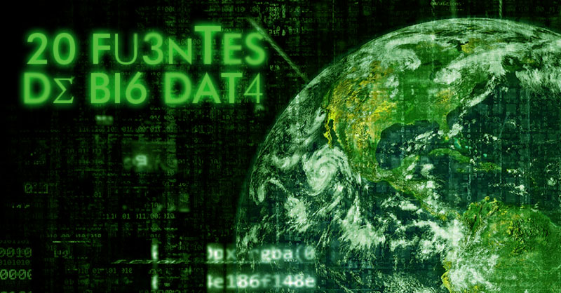 Descarga de fuentes de datos para Big Data