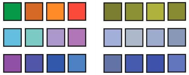 diseño para daltónicos