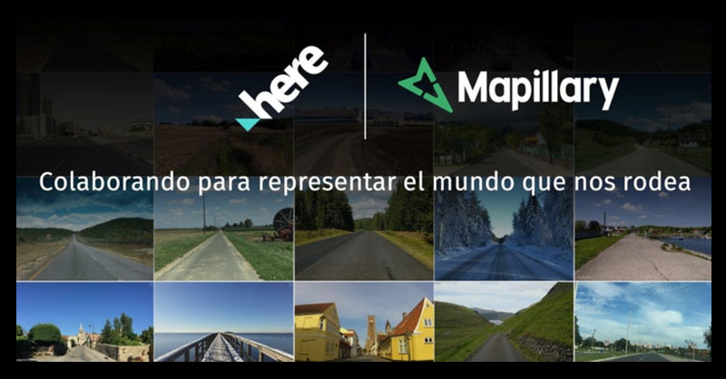 Mapillary y HERE en la creación de mapas y callejeros