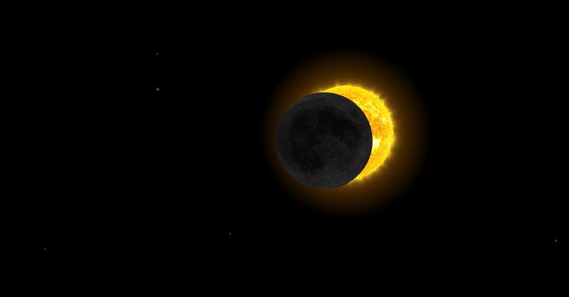 aplicaciones para visualizar el eclipse solar