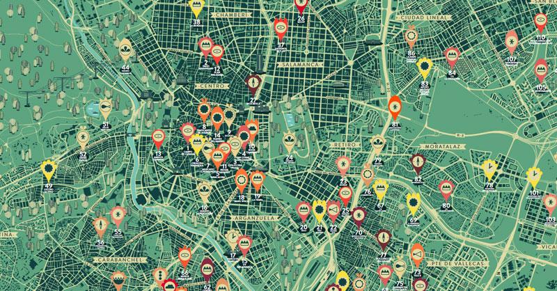 Atlas de iniciativas vecinales Los Madriles