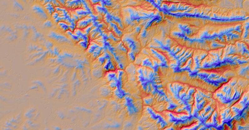Índice de Posición Topográfica con GIS