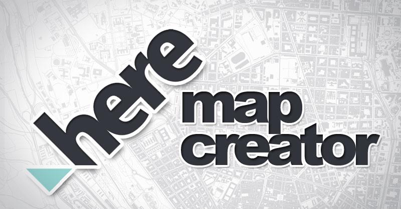 Callejero Map Creator de Here
