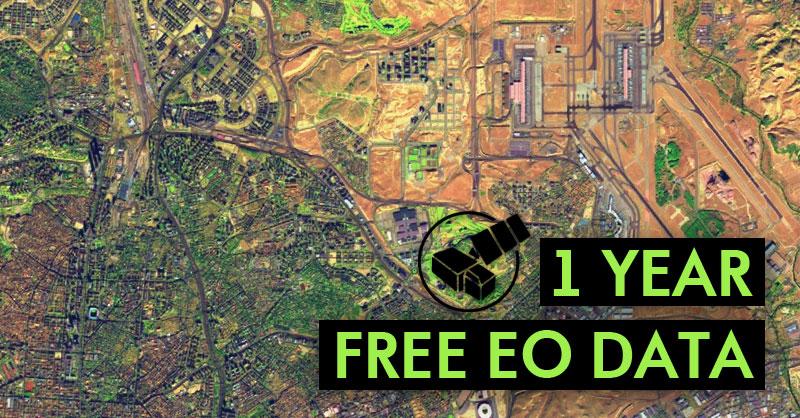 Imágenes satélite gratuitas con Sentinel Hub
