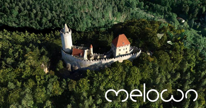Visor 3D de vuelos dron con Melown